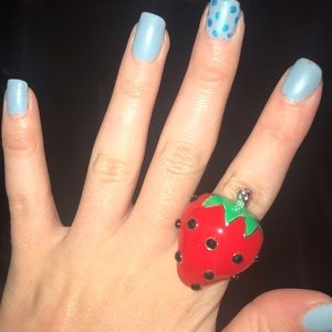Super Cute Strawberry Ring